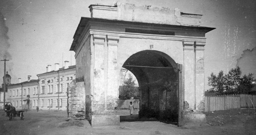 Омская крепость в 19 веке
