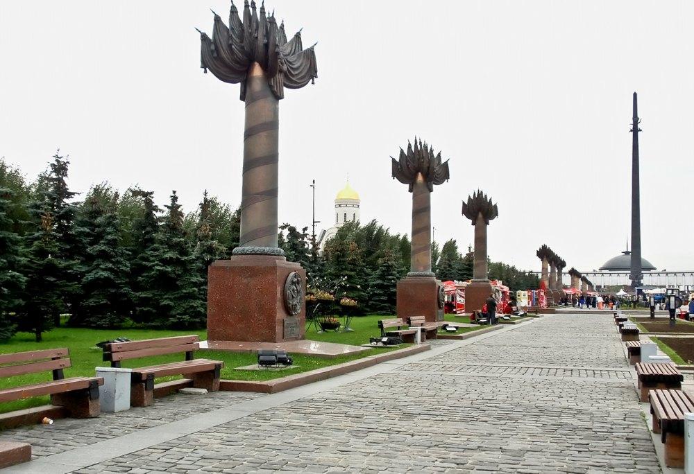 Дорожка по Парку Победы