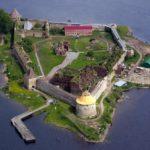 Шлиссельбургская крепость на Ореховом острове