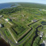 Новодвинская крепость в Архангельске