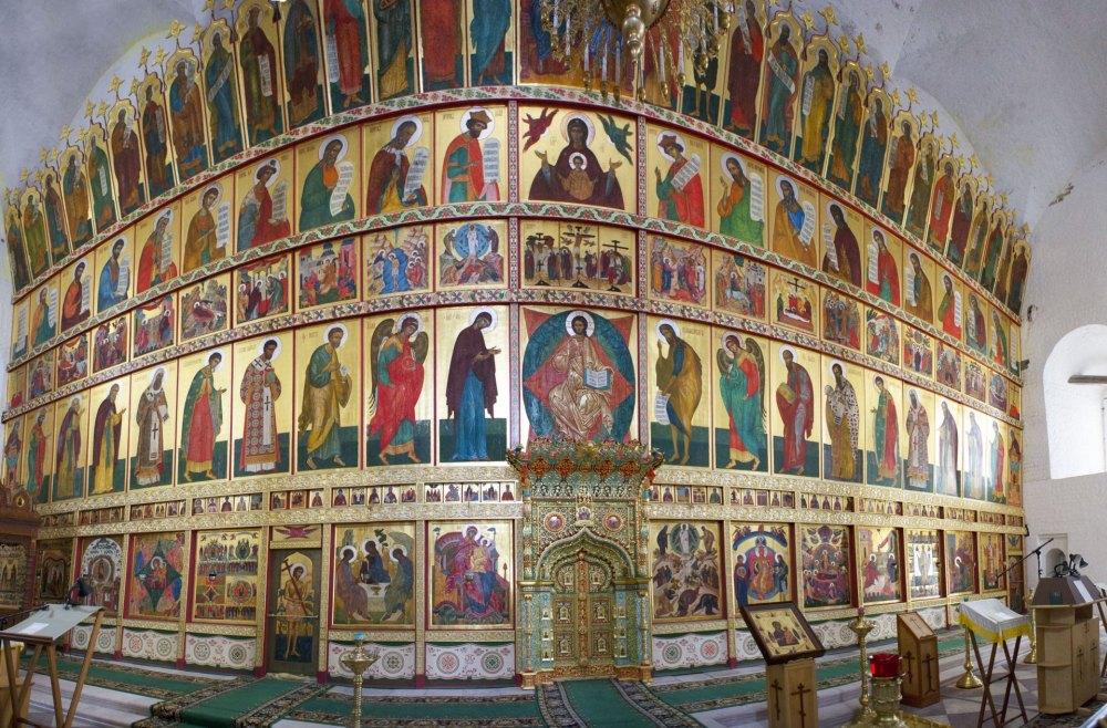 Преображенский собор, иконостас