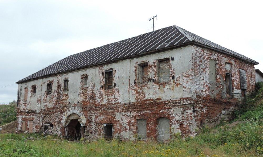 Сохранившееся строение