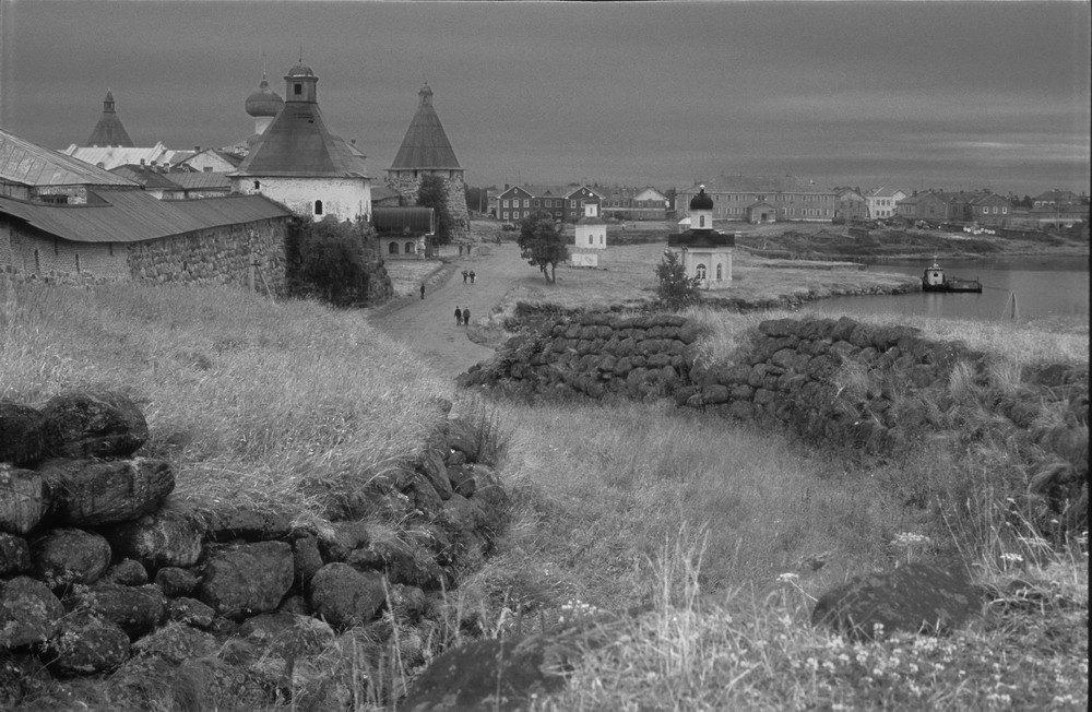 Спасо-Преображенский Соловецкий монастырь в 19 веке