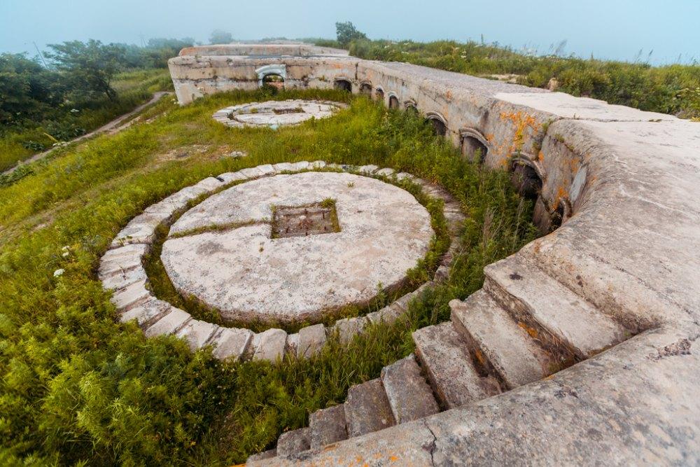 Крепость во Владивостоке и его окрестностях