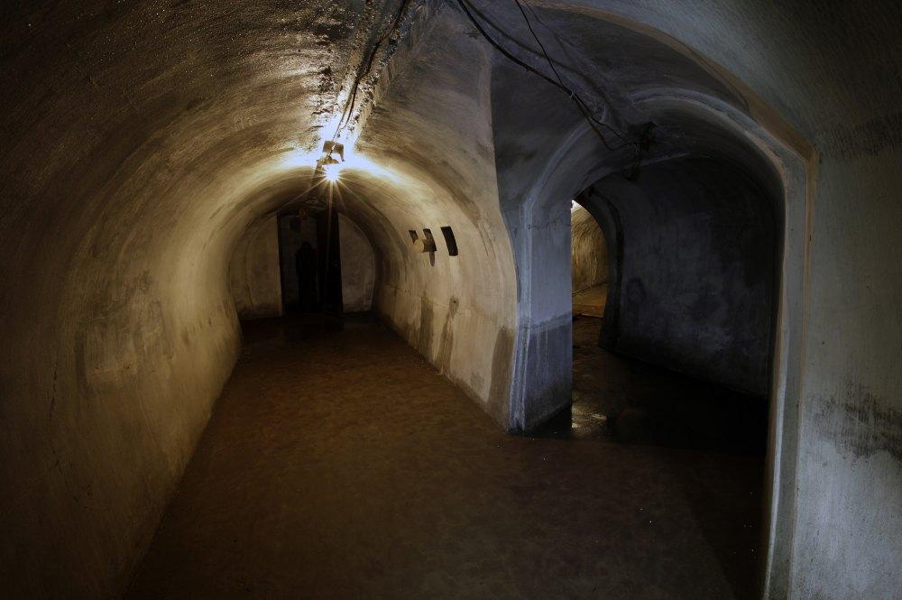 Владивостокская крепость, внутренние ходы