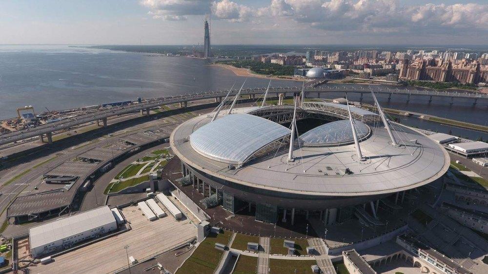 «Газпром Арена», Санкт-Петербург