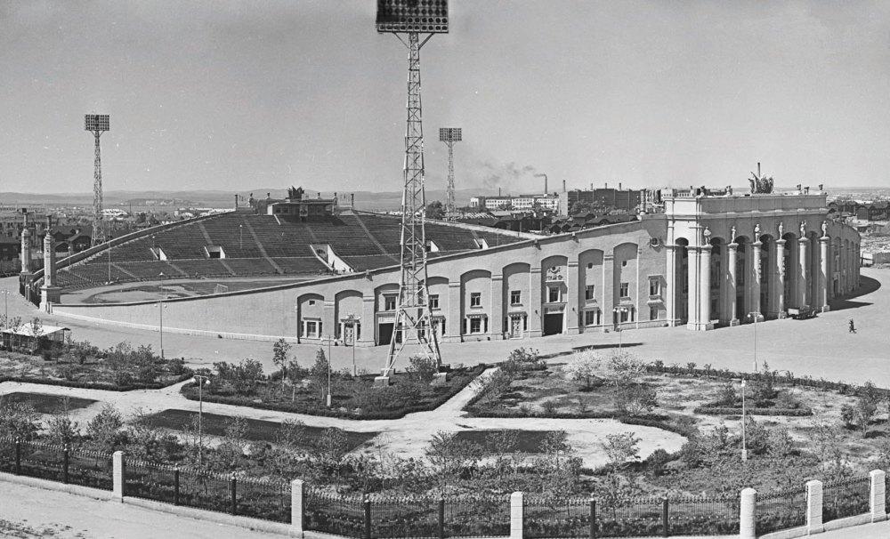 Центральный стадион Екатеринбурга в 1957 году