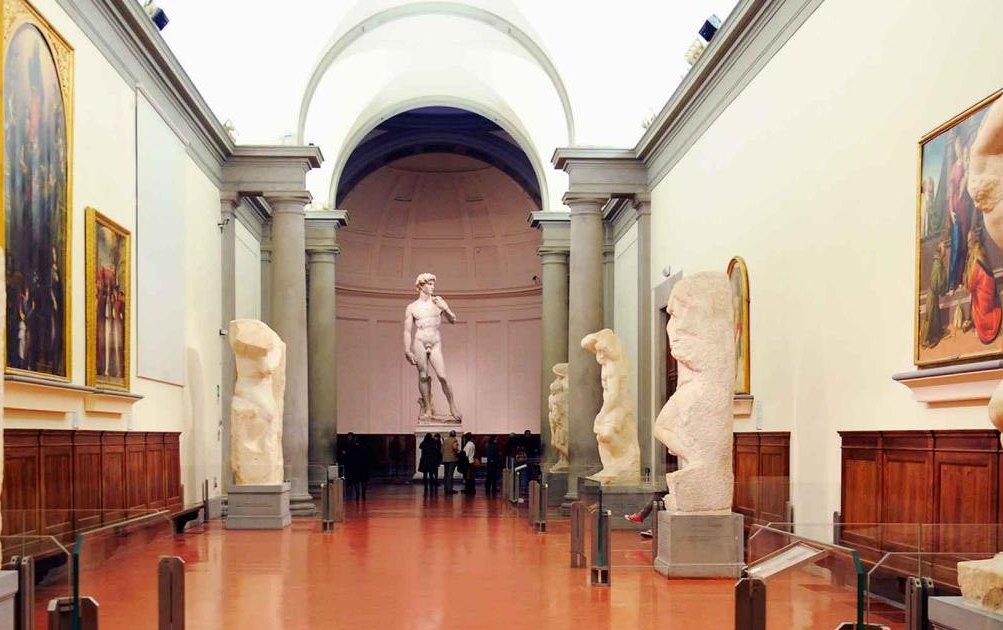 Давид в Академии изящных искусств