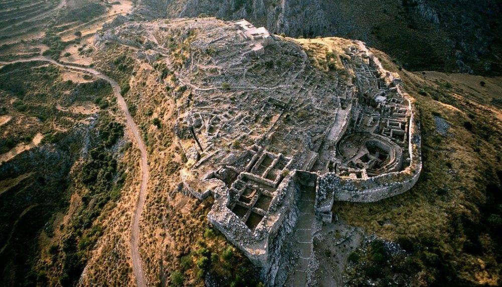 Микены – укрепленная крепость