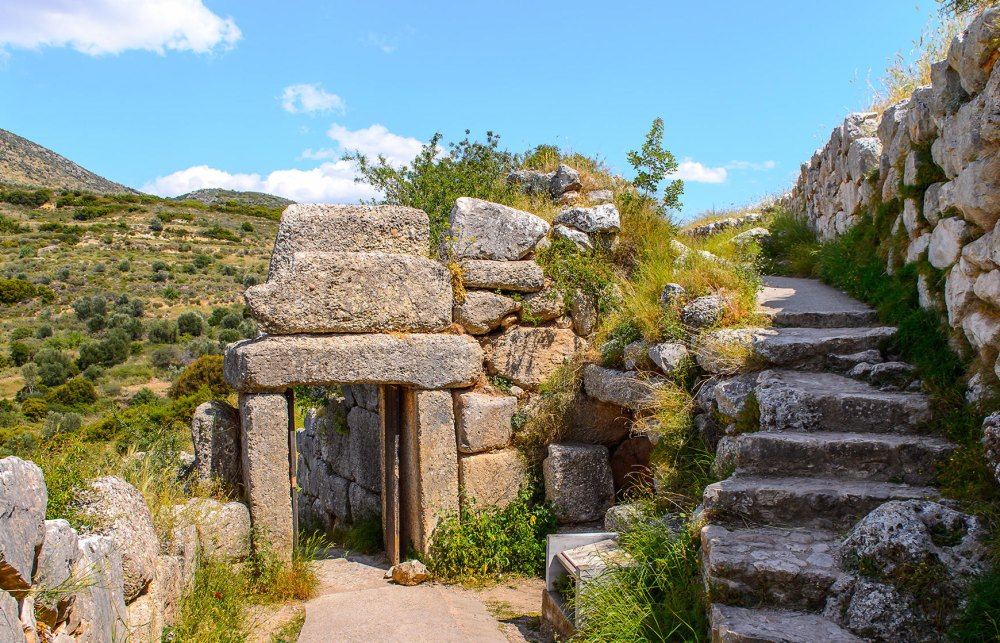 Руины Микен