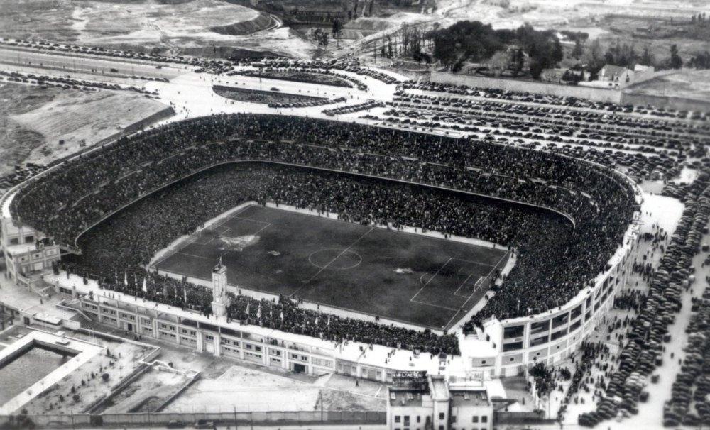 «Сантьяго Бернабеу» в 1950 году