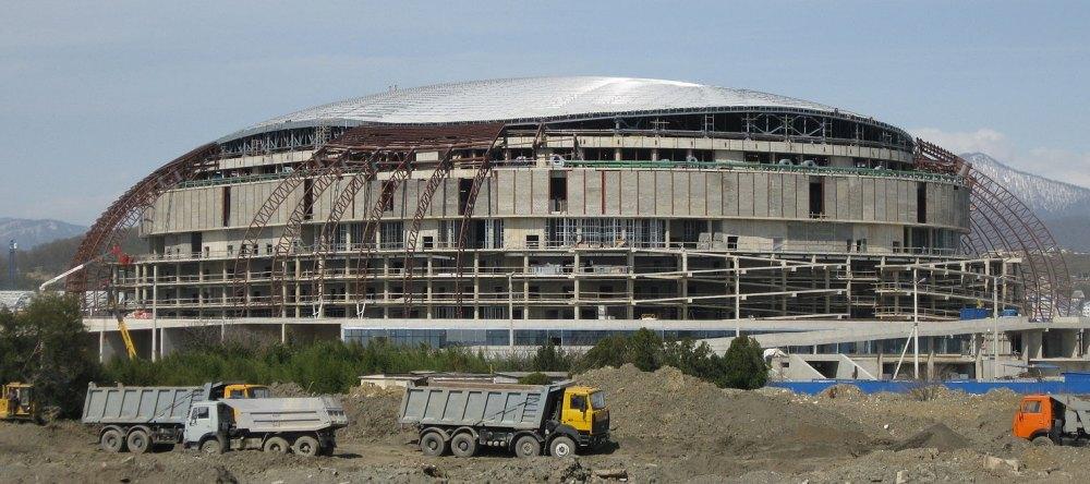 Строительство олимпийского объекта