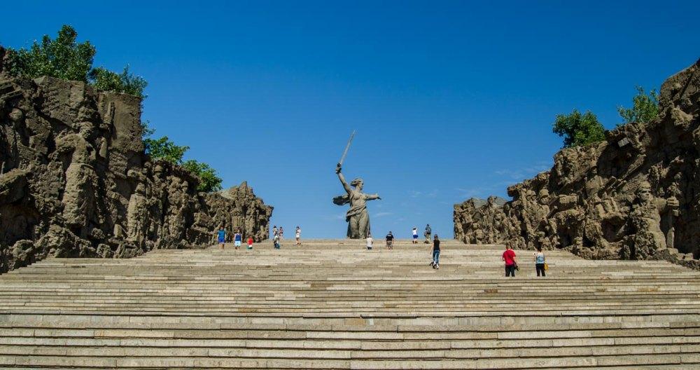 Лестница на Мамаев Курган