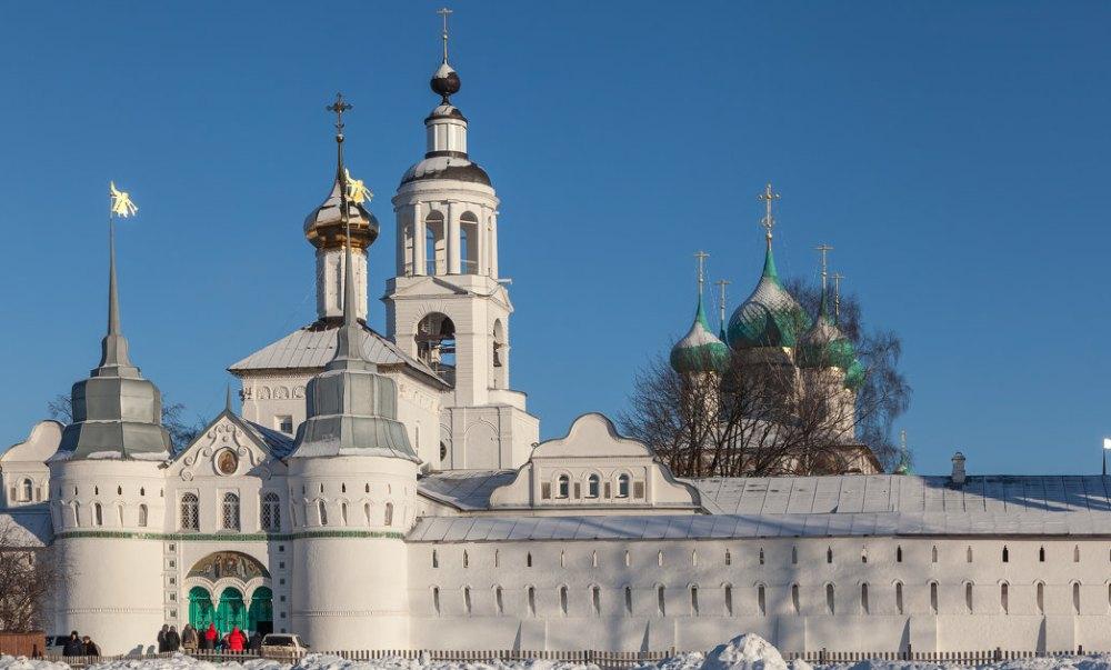 Храмы Толгского монастыря