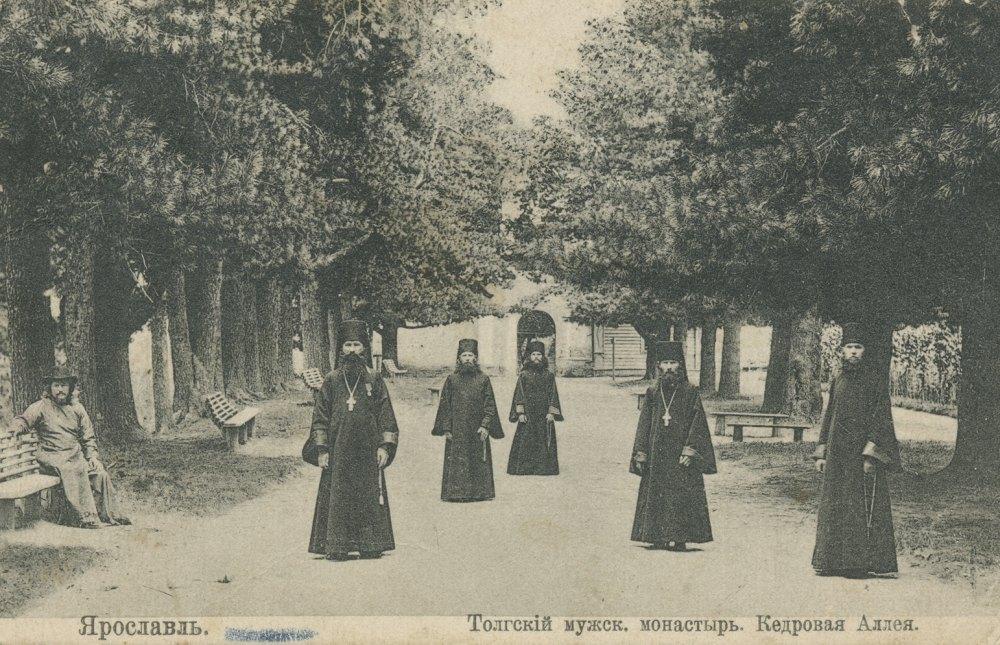 Кедровая роща при мужском монастыре