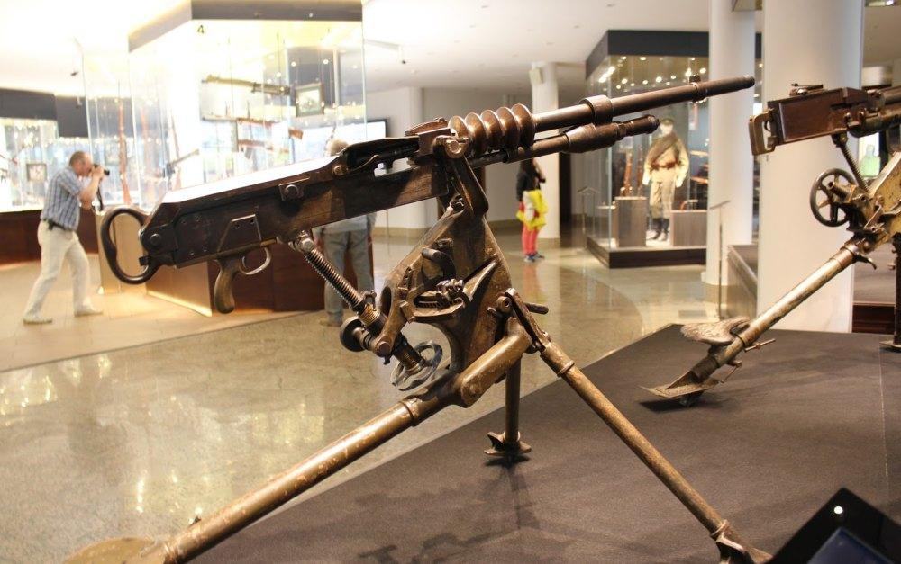 Оружие в тульском музее