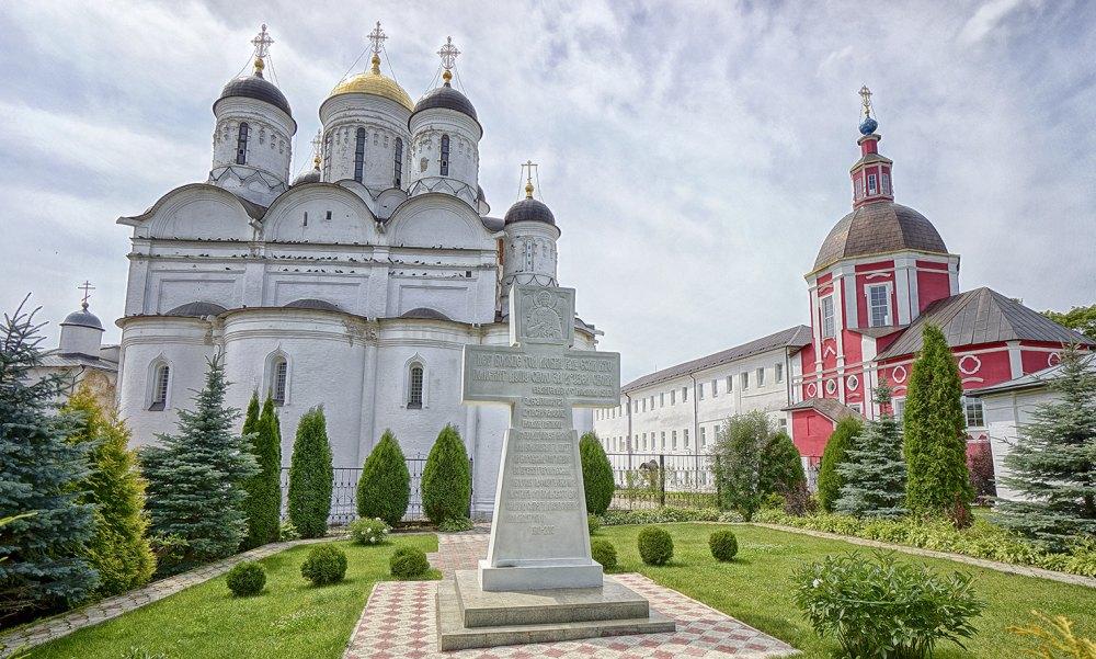 Крест о убиенных Пафнутьева монастыря