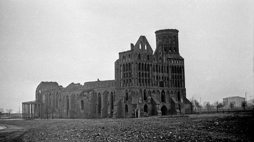 Кенигсбергский собор после ВОВ
