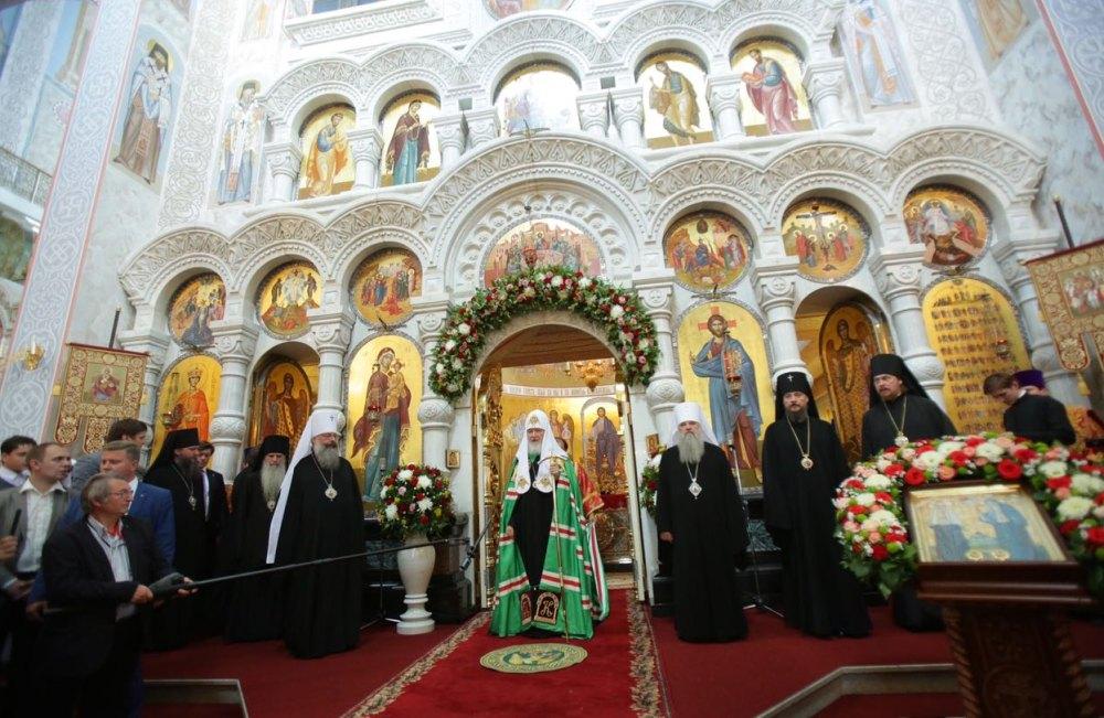 Принесение мощей святой Елисаветы Феодоровны