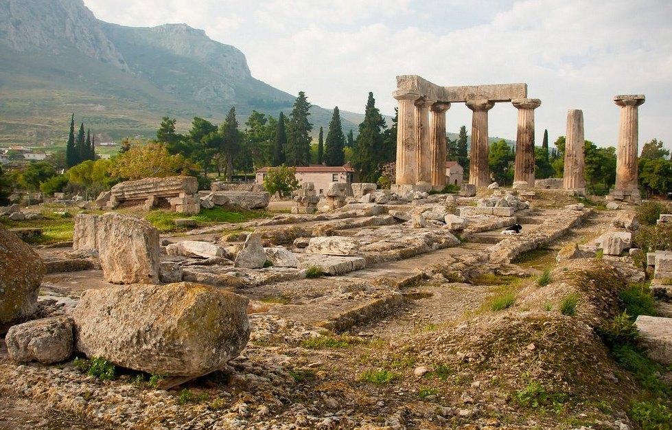 Древний Коринф, руины