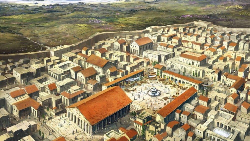Ученые восстановили облик города
