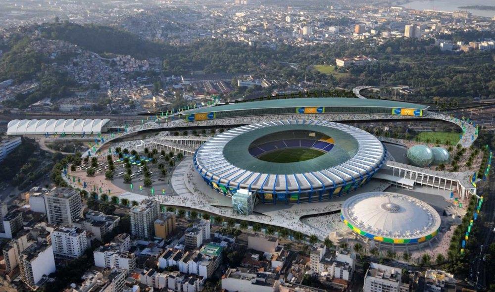 Современный стадион Маракана в Рио-де-Жанейро