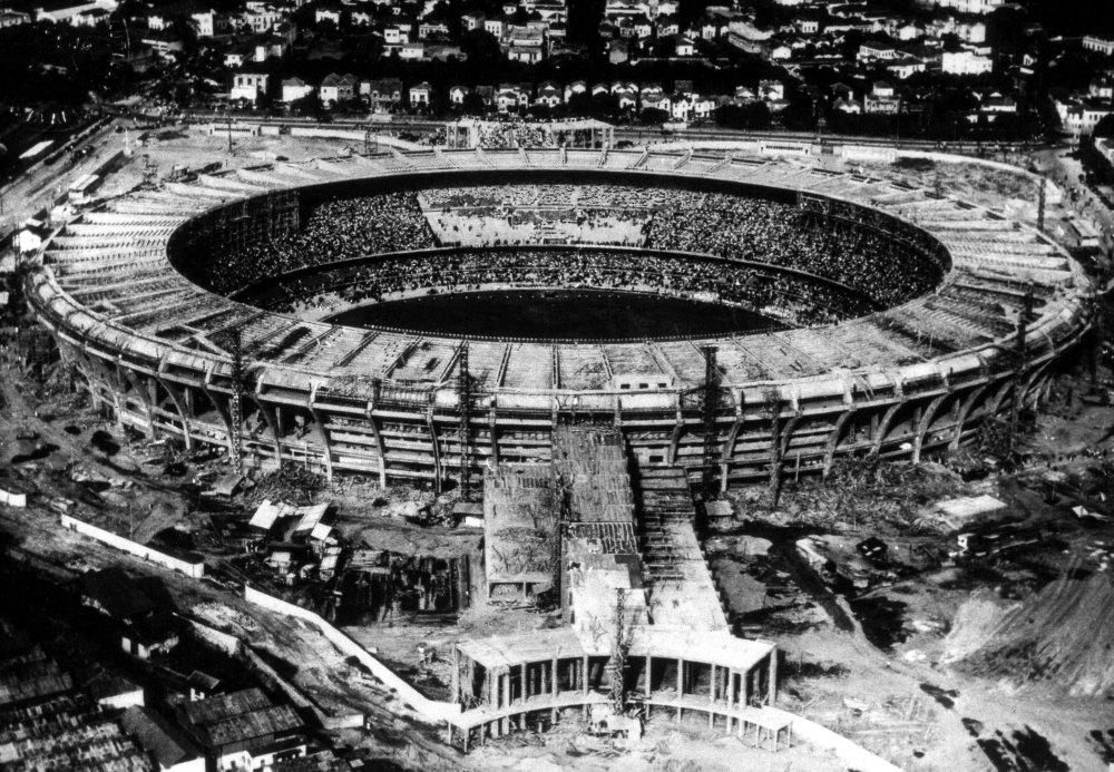 Маракана в 1950 году