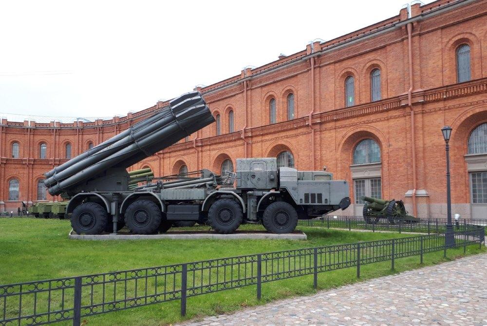 Экспонаты Артиллерийского музея