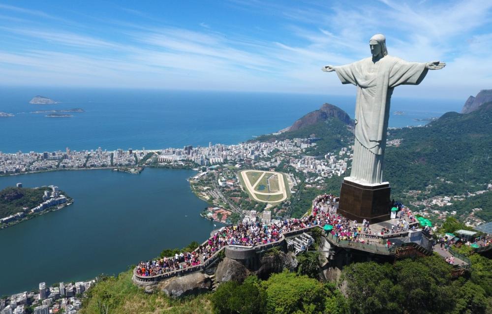 Cтатуя Христа Искупителя в Бразилии