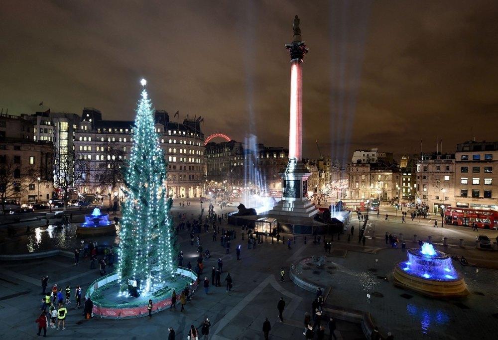 Место проведения новогодних праздников и Рождества