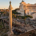 Колонна Траяна в Риме