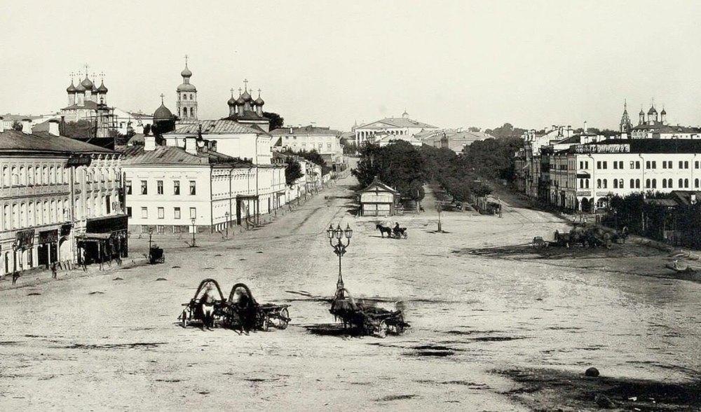 Высоко-Петровский монастырь в 19 веке