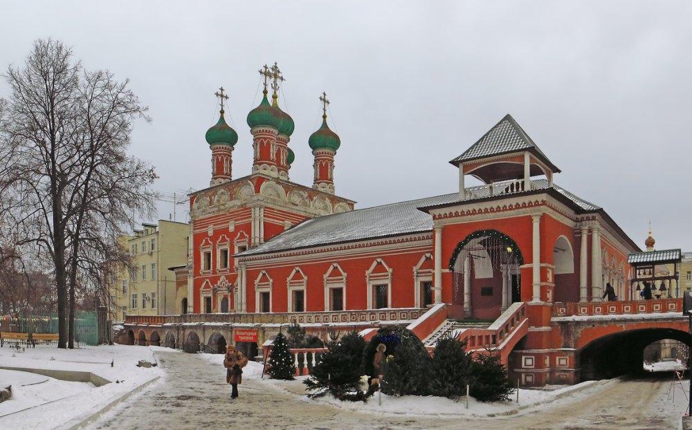 Церковь преподобного Сергея Радонежского