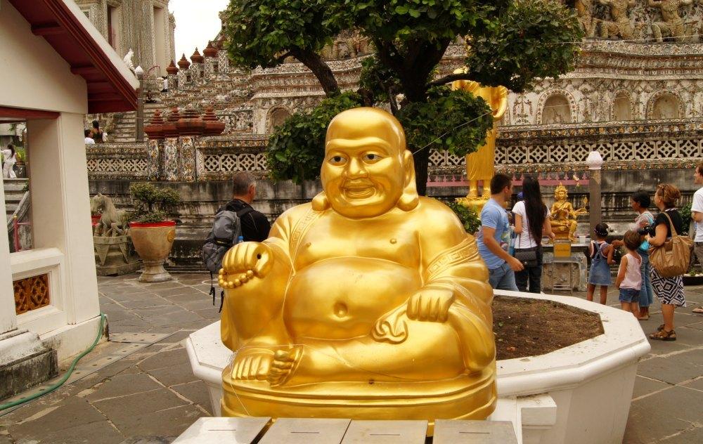 Будда на территории