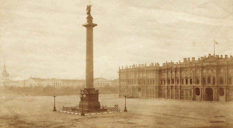 Александровская колонна, 19 век