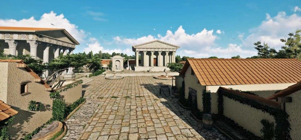 Улица древней Горгиппии