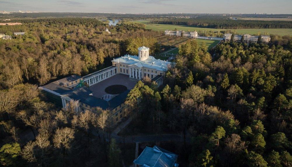 Дворцово-парковый комплекс, общий вид
