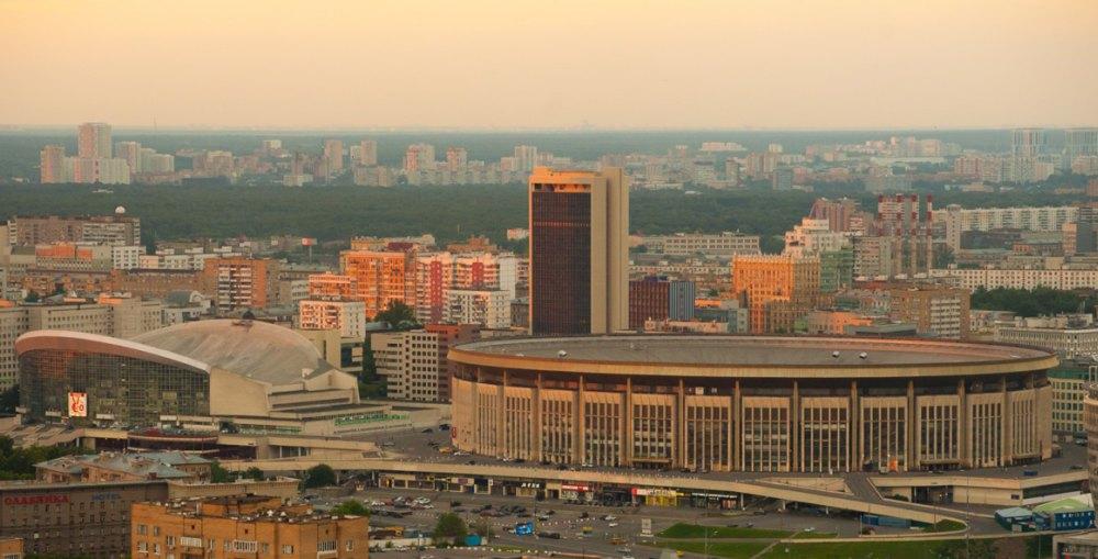Спортивный комплекс «Олимпийский» в 80-х