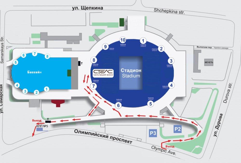 План реконструкции «Олимпийского»