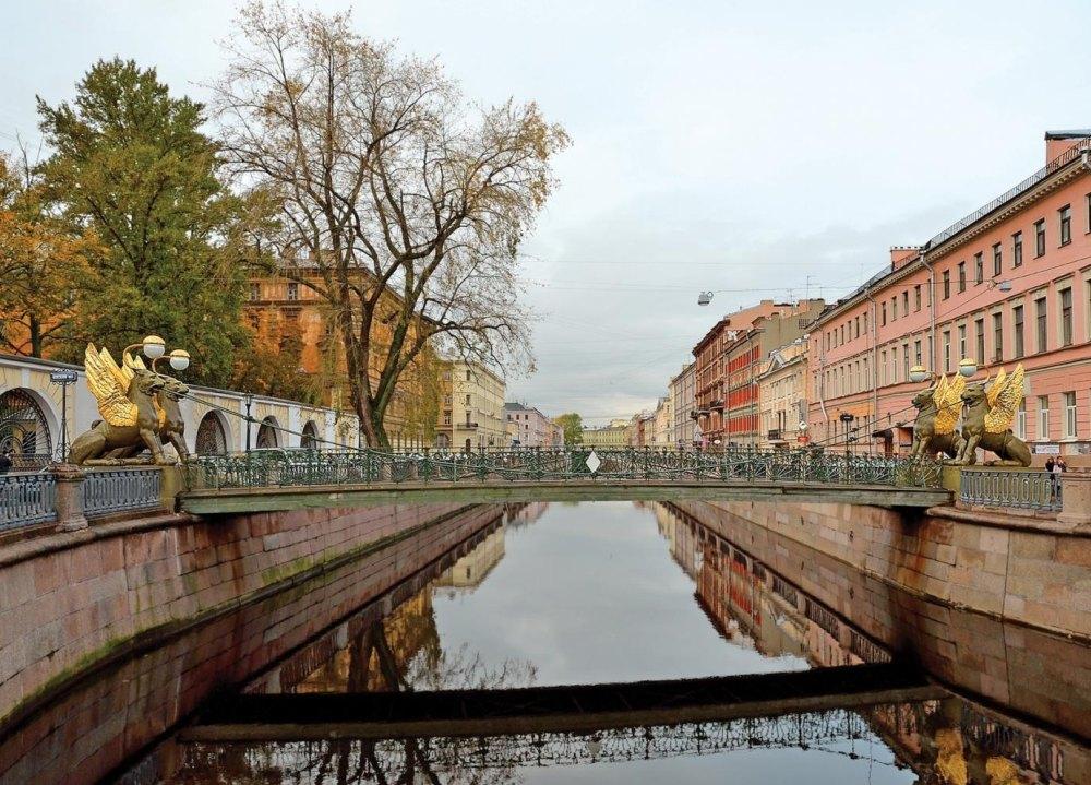 Банковский мост через канал Грибоедова