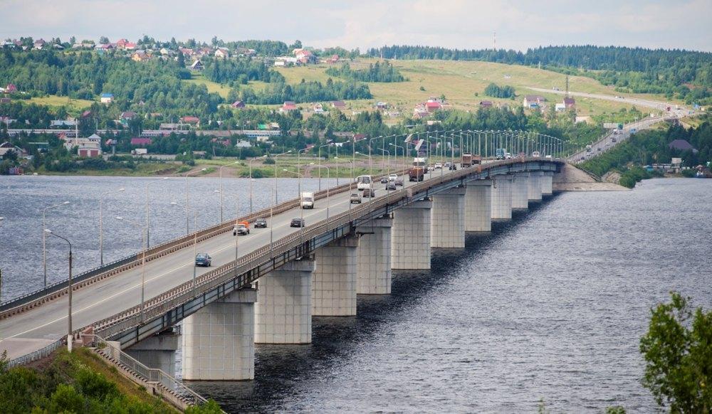 Дейсвующий Чусовской мост