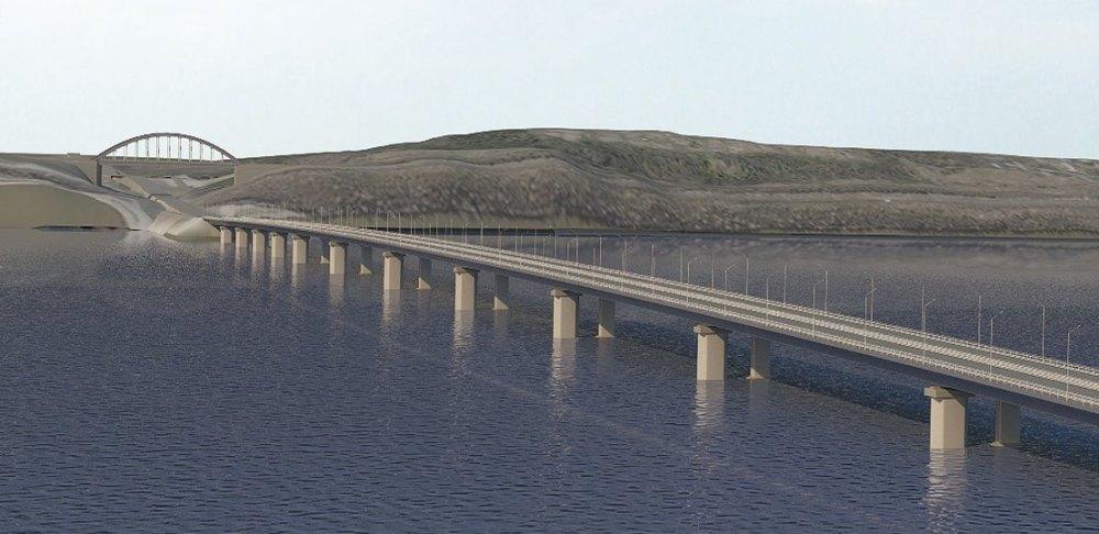 Длина мостового перехода составит 1504 м