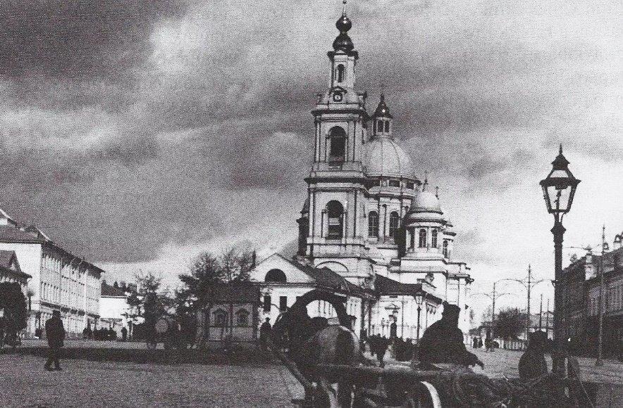 Богоявленский храм в 19 веке