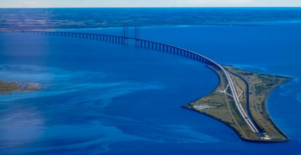 Эресуннский мост, общий вид