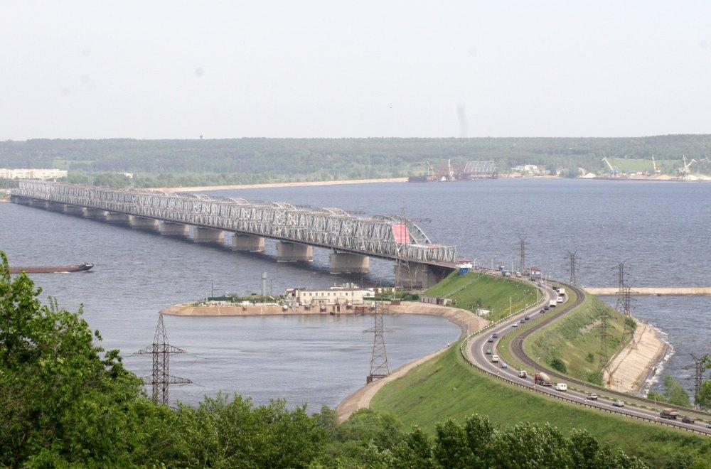 Императорский мост в Ульяновске