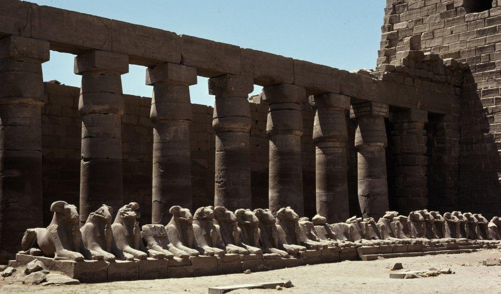 Руины комплекса святилищ