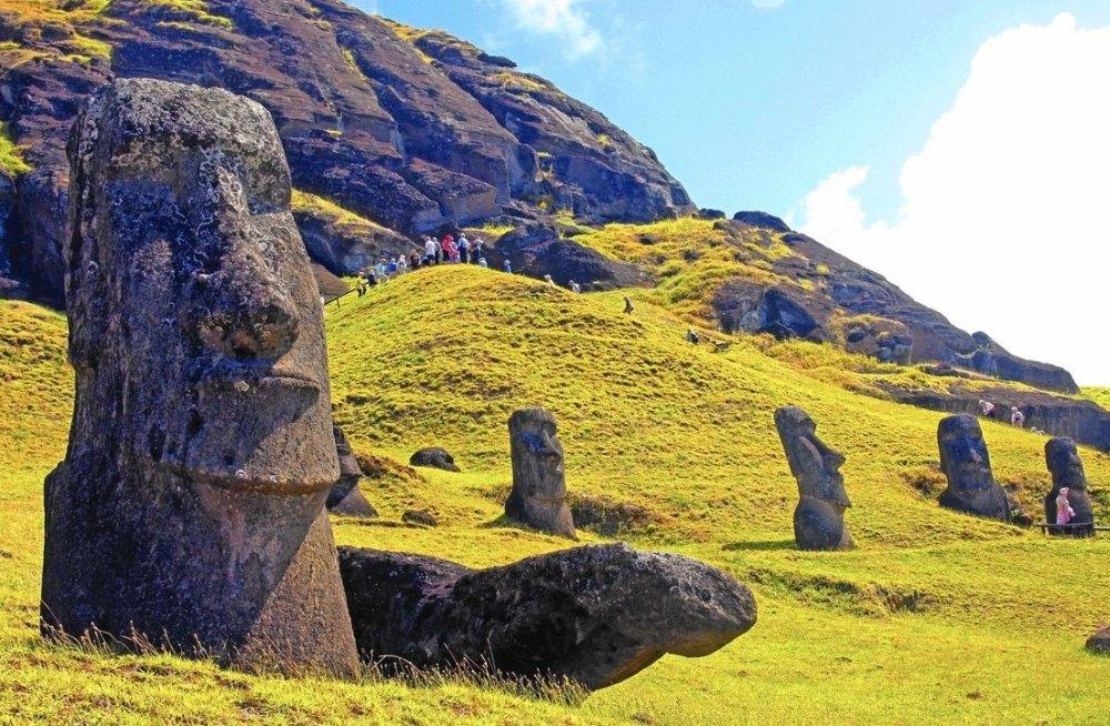 Исполины на острове Пасхи