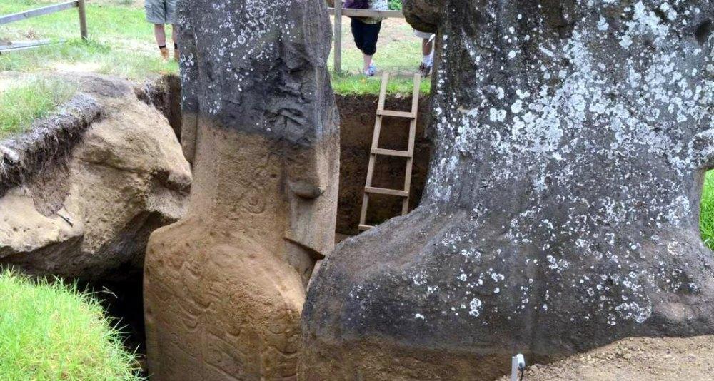 Раскопки туловищ