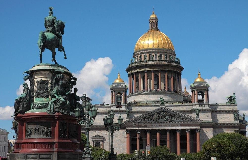 Памятник на Исаакиевской площади