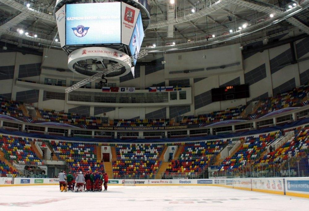 Арена для хоккейных матчей